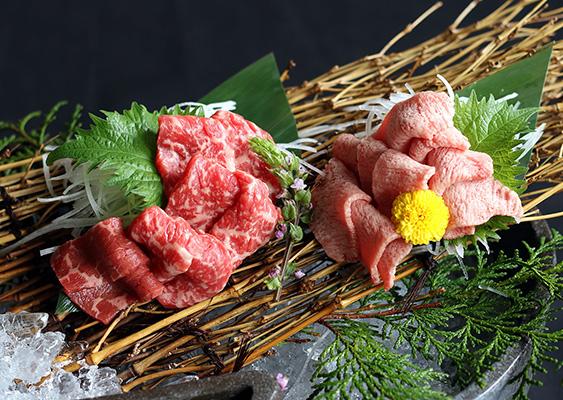 近江牛前菜